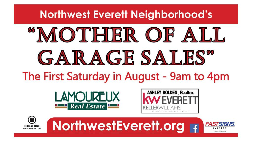 Mother of All Garage Sales Northwest Everett