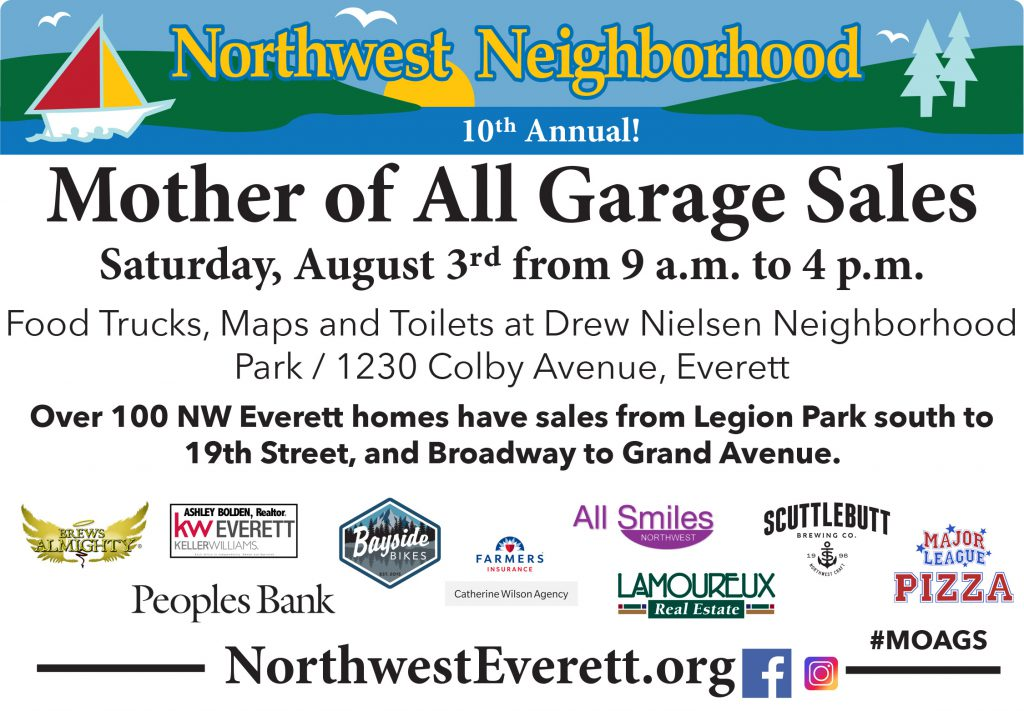 Northwest Everett Mother of All Garage Sales
